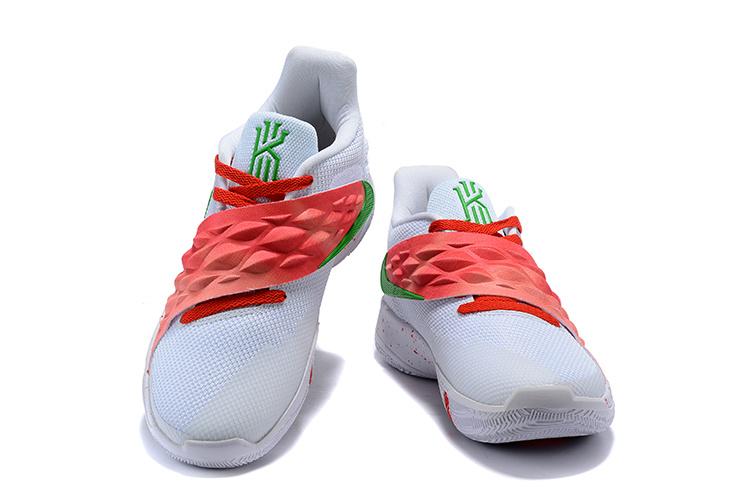29b10399df68de8ce8c35a31896d5215 - Nike Kyrie4 Low 厄文4 綁帶 低幫 實戰 男子 籃球鞋 白紅色 耐磨戰靴 新品❤️
