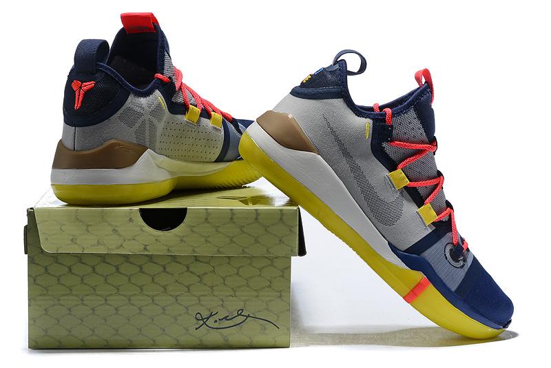 3179e27d80369f0519ce9ef0f89b9d2b - Nike Zoom Kobe AD React 科比AD籃球鞋 深藍灰 低筒 品質保證 現貨秒殺