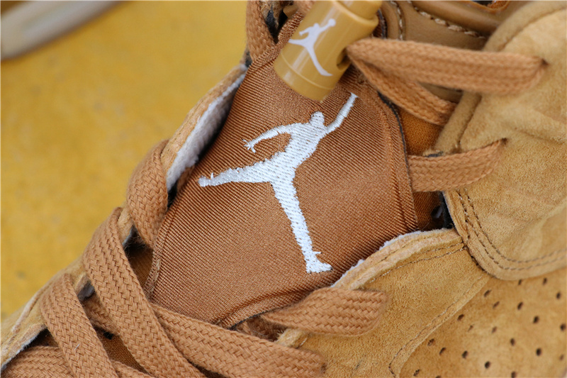 3bad95957e575ccff1a7d8c881a7a66e - Air Jordan 6 Wheat  384664-705 喬6麂皮小麥色男款