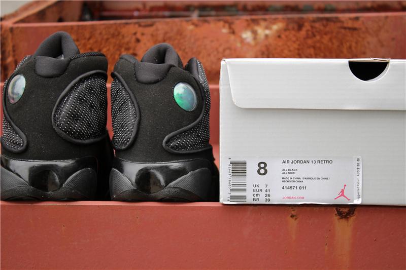40d2e05d21b653fddff2ffb4a2884dfd - Air Jordan 13  Black Cat  414571-011 喬13高幫黑貓男女款