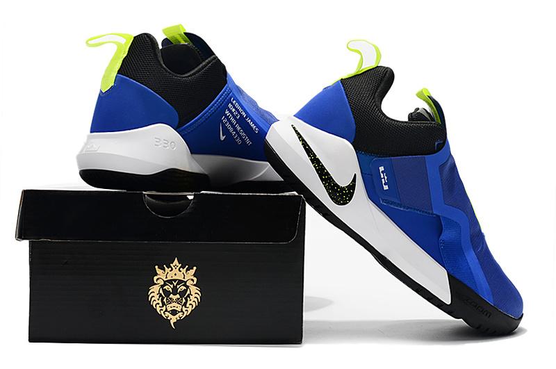 41a445c36e43d720f3c8341527c46a10 - Nike Ambassador XI 詹姆斯使節11代低筒籃球鞋 寶藍色 無鞋帶 超熱賣❤️