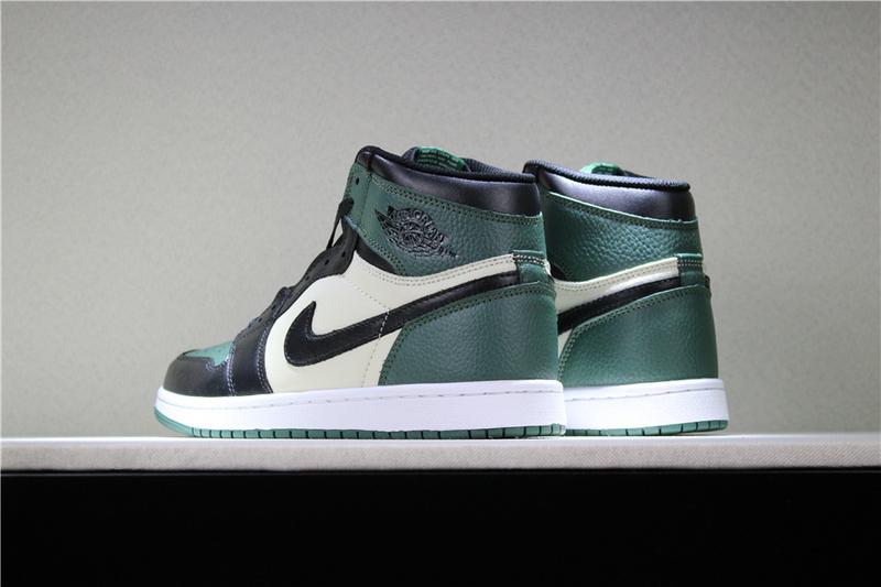 42b34bab17c5df2becd3cfaf6f8fb8ef - 喬丹1代 Air Jordan 1 Pine Green 喬1黑綠腳趾男女款