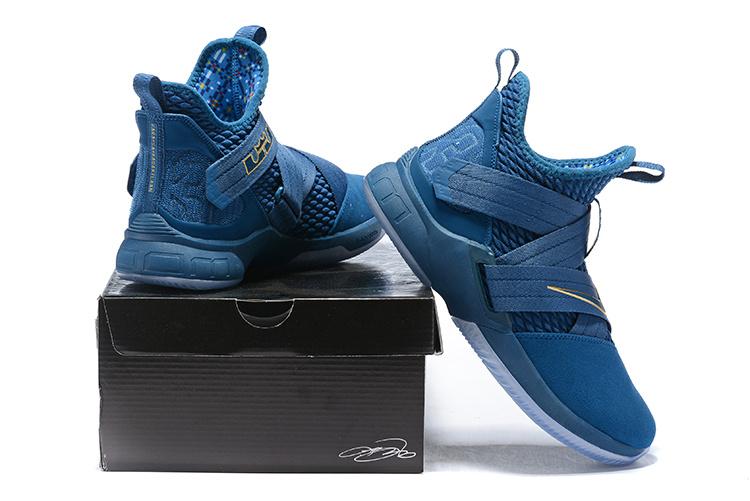 4467819b869427ae06c5c66206ac903e - LeBron Soldier XII 詹姆斯 戰士 12代 士兵 籃球鞋 男款 藍色 實戰系列❤️