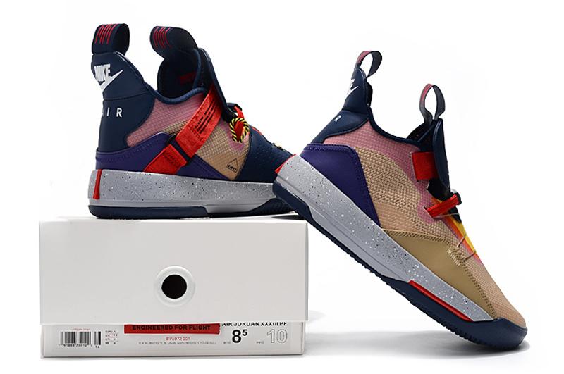 6045453e682e9d416745b11c09854845 - Air Jordan XXXIII 喬丹33代 男子籃球鞋 拼接色 高筒 最高品質 新品駕到❤️