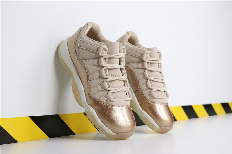 69397d193bab2b295cff23ce57c3ad3f - Air Jordan 11 Low GS  Rose Gold AH7860-105 喬11低幫玫瑰金女款