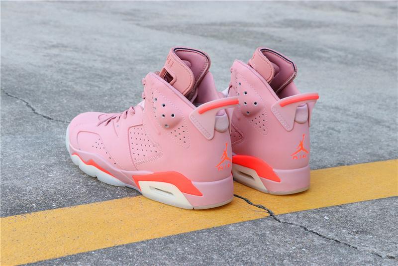 6b3518cb3866bef2f7c099082b21095a - Air Jordan 6 Millennial Pink 384664-031 喬6粉紅外線男款