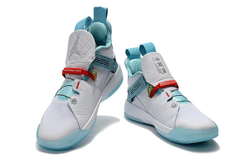 7f7b8a1da2fe9ba8741819a6da64edcc - Air Jordan XXXIII 喬登33代 男子籃球鞋 白綠色 耐磨 品質嚴選 時尚 新品❤️