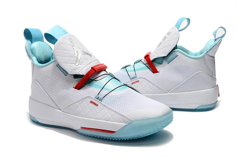 83b7b13a33baec7d3e705d05cbbfc39f - Air Jordan XXXIII 喬登33代 男子籃球鞋 白綠色 耐磨 品質嚴選 時尚 新品❤️