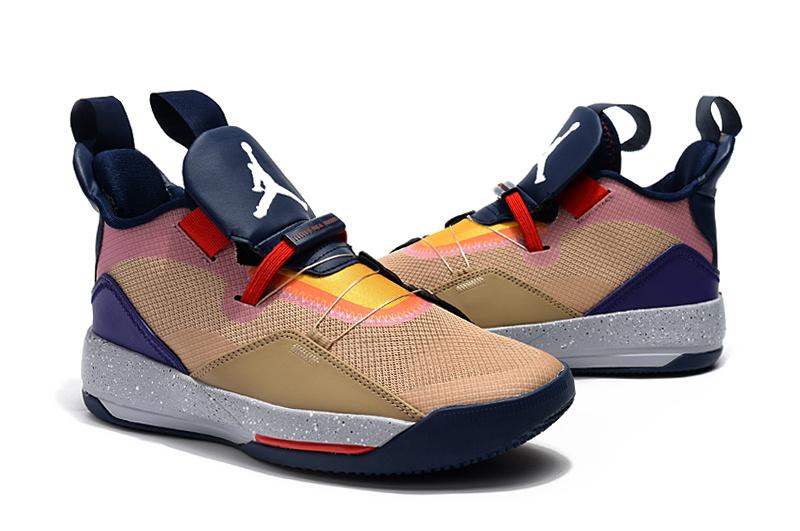 8c003e51cc3b62932fdd8ecf4ee64c50 - Air Jordan XXXIII 喬丹33代 男子籃球鞋 拼接色 高筒 最高品質 新品駕到❤️