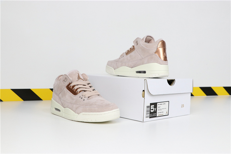 9ac3faf202b5082f4b03f99ab105f1ad - Air Jordan 3 NRG Rose Gold 喬丹3代 玫瑰金女神粉 高筒 時尚 休閒運動鞋❤️