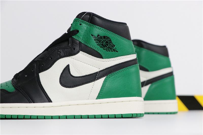 a256ef02c7bd4d499adcf2a927f32048 - Air Jordan 1 Pine Green 喬丹1代 黑綠腳趾 男款 高筒 休閒籃球鞋 熱銷推薦❤️