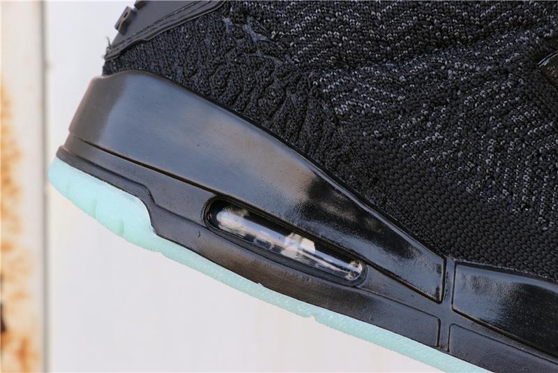 a4d2ef200b66644f18d75110adcf8c44 - Air Jordan 3 Flyknit  Black AQ1005-001 喬3灰綠編織夜光男款