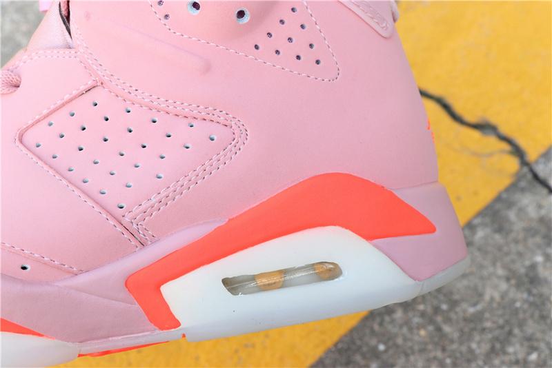 a74d90ff2d413456325021804e59a204 - Air Jordan 6 Millennial Pink 384664-031 喬6粉紅外線男款
