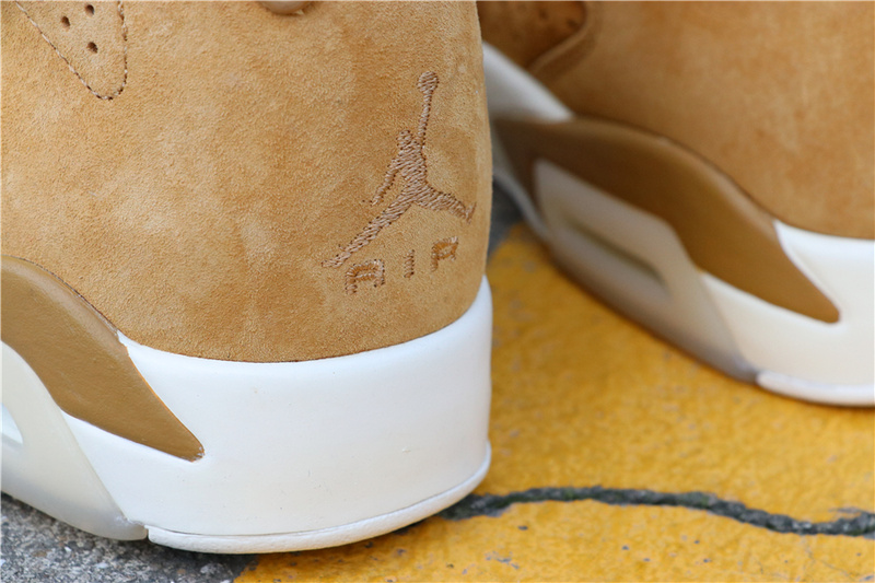 a99429a17d47e8261bf260a12cd742ec - Air Jordan 6 Wheat  384664-705 喬6麂皮小麥色男款