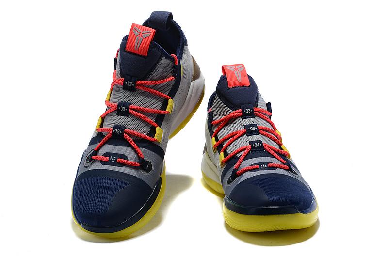 add5bfbb2ceb491b0242423e64d8d65c - Nike Zoom Kobe AD React 科比AD籃球鞋 深藍灰 低筒 品質保證 現貨秒殺