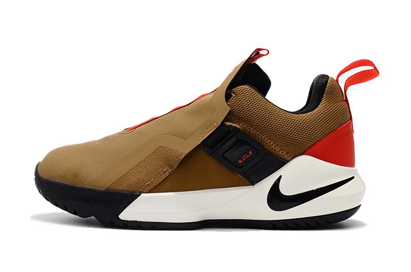 b11ee9c232d6021ffb130289dd26b810 - Nike Ambassador XI 詹姆斯使節11代低筒籃球鞋 棕色 無鞋帶戰靴 超熱賣❤️