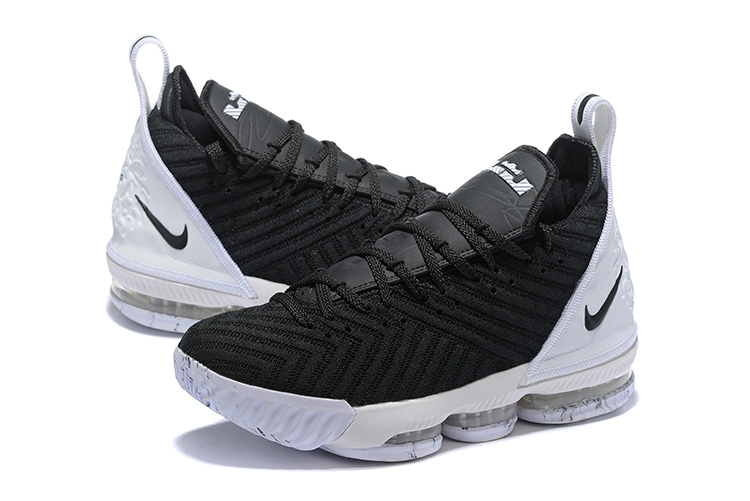 be3c293711722728e953ab45eb5c5ade - NIKE Lebron LBJ15 詹姆斯16代 男子 實戰 氣墊籃球鞋 黑白色 最高品質❤️