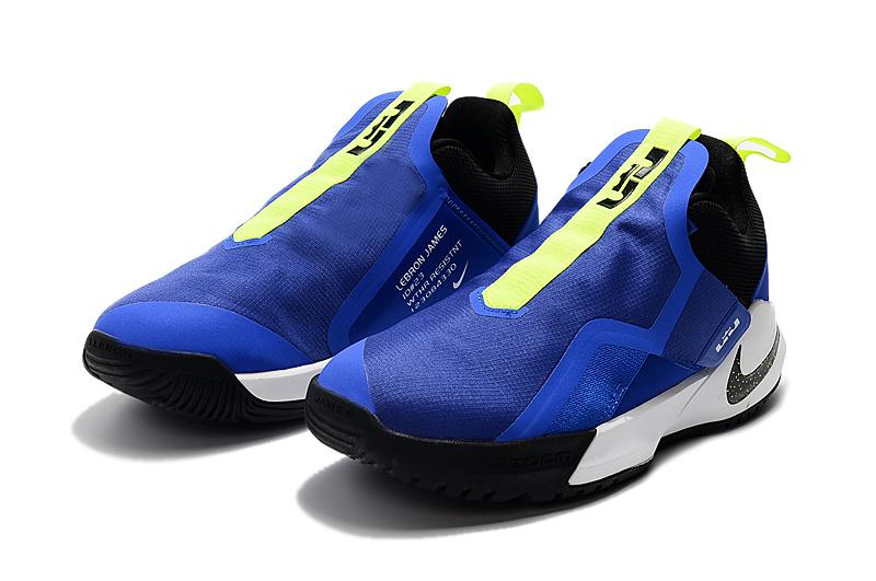 c4ea28fdd744c2969dc8c10d88a95ad2 - Nike Ambassador XI 詹姆斯使節11代低筒籃球鞋 寶藍色 無鞋帶 超熱賣❤️