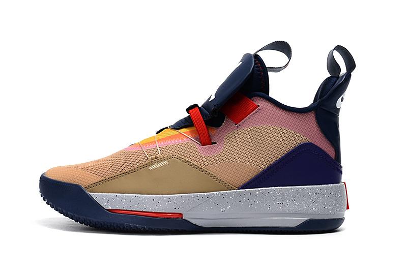 ce18e9bd3ef39ac1d14e0b32763c2cdb - Air Jordan XXXIII 喬丹33代 男子籃球鞋 拼接色 高筒 最高品質 新品駕到❤️