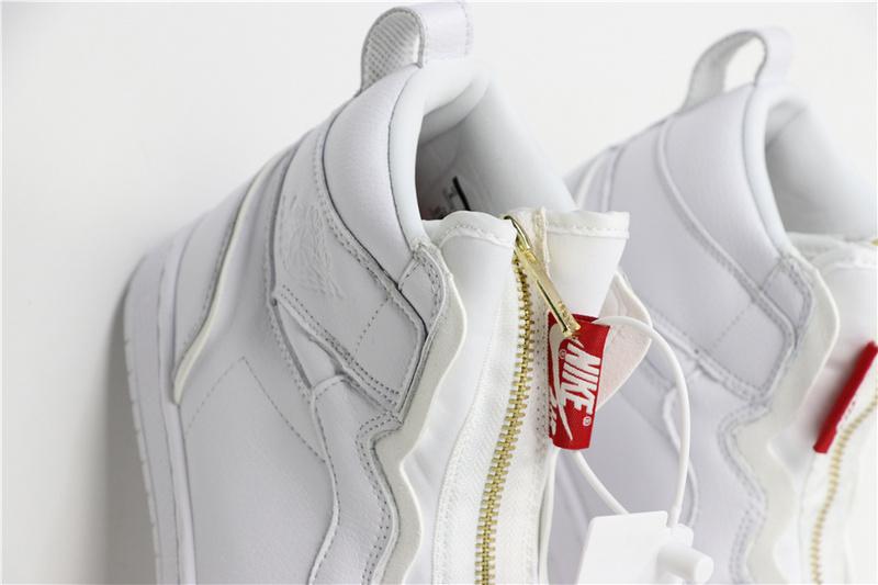 d894c57a82ae70cb183f038c34378463 - Air Jordan 1 Retro High Zip White AQ3742-116 喬1高幫拉鏈白