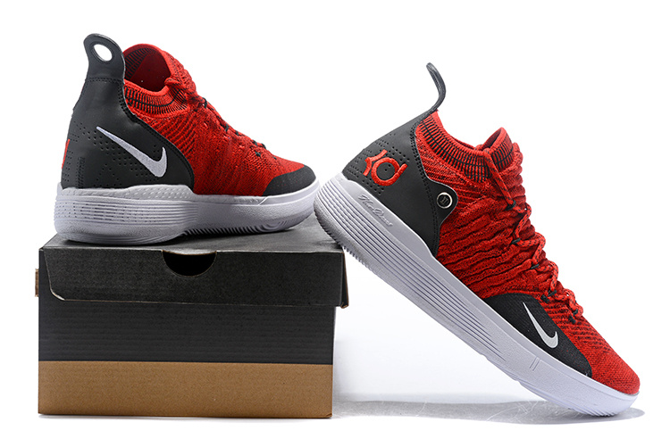 eaa199f1f04a950d4949afa003d22fb7 - Nike Zoom KD11代 飛織 中幫 耐磨 籃球鞋 大紅色 男款 最高品質 現貨預購