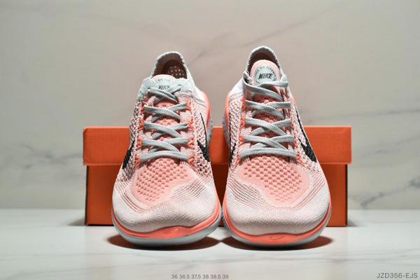 01259f9d477e76ccfac4251ab60f3ea9 - Nike Free Rn Flyknit 赤足飛線編織運動跑步鞋休閒鞋 女鞋 粉灰黑