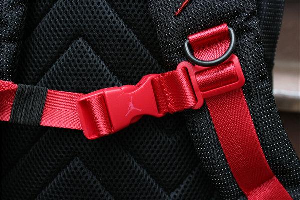 03070b56a08d16d1b6e28a3073810dab - Nike Air Jordan 同款 純色AJ雙肩揹包 黑紅