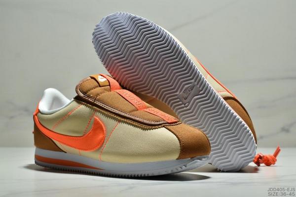 08c864158ad68174bea6e27b834a0d59 - Nike Cortez Kenny IV 110E2022聯名 全新阿甘一腳蹬設計 運動休閒慢跑鞋 男女鞋 黃橘