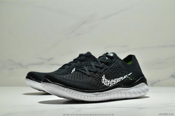 09e871b846f3003d31cffafe3bb4969b - Nike Free Rn Flyknit 赤足飛線編織運動跑步鞋休閒鞋 情侶款 黑白