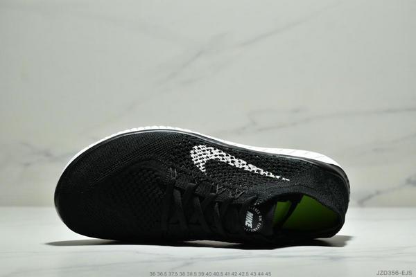 0abd7a3076aaed4c71d213b75bffa7dd - Nike Free Rn Flyknit 赤足飛線編織運動跑步鞋休閒鞋 情侶款 黑白