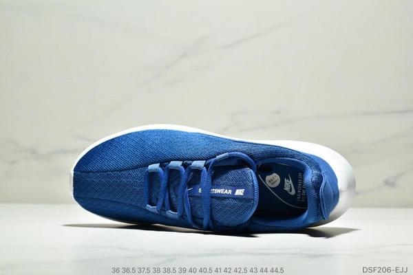 0aeba1b7913e16a51be9641636806835 - NIKE VIALE 倫敦5代 輕便男女減震文化運動休閒鞋 深藍白
