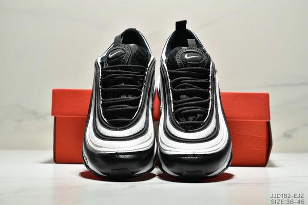 0b761dbc1df9dbfbad80bcecb0b1ec9f - NIKE AIR MAX 97 OG UNDFTD 97復古全掌小氣墊減震跑鞋 情侶款 白黑