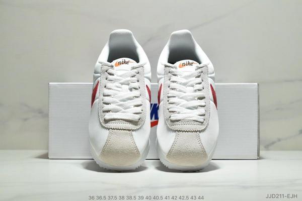 0cda1aa05cdc82529c07d5cf7205384f - Nike Classic Cortez Betrue 阿甘 復古跑鞋 情侶款 白灰紅