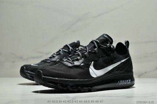 0f8181262874756a5a8f6f7473f5026c - Nike React Element 87全新演繹注入Max 2019 氣墊 男款 黑白