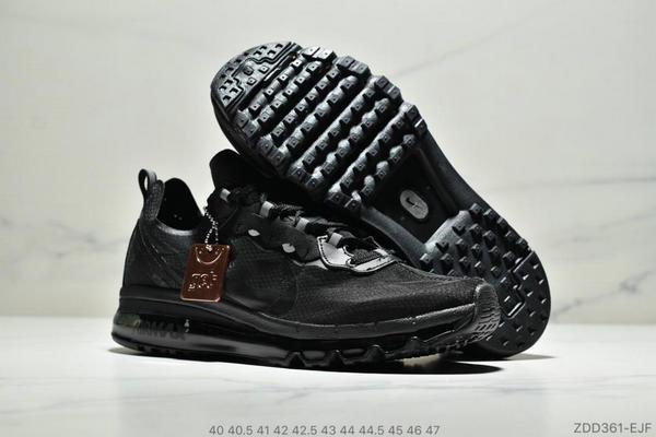 1379dd6f8784a5c930704f1720b3d449 - Nike React Element 87 Max 2019 氣墊 男款 黑色