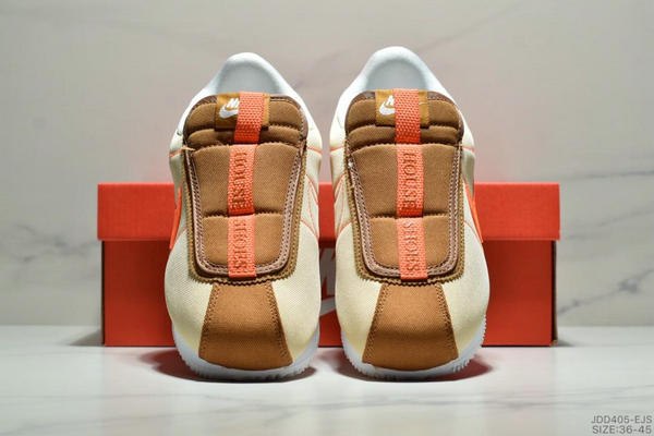 140fe24aedeced6674c21d0c17f99c83 - Nike Cortez Kenny IV 110E2022聯名 全新阿甘一腳蹬設計 運動休閒慢跑鞋 男女鞋 黃橘