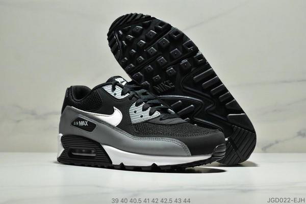 141a483de4d90f8efa22d89e3300a234 - Nike Air Max 90 Essential 復古氣墊休閒跑鞋 男款 黑灰白