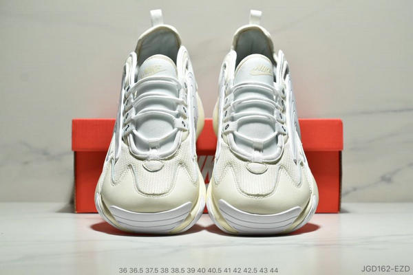 1754fd2ae1feaaf3e4d2d4ec9369d48e - Nike Zoom +2K Sneaker White-Black Zoom 2000復古百搭老爹慢跑鞋 如圖