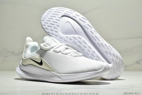 1b12c30a3f2aa9032d32b14fdd6b34c2 - Nike VIALE維亞爾系列網面輕便運動休閒跑步鞋 男女款 白黑