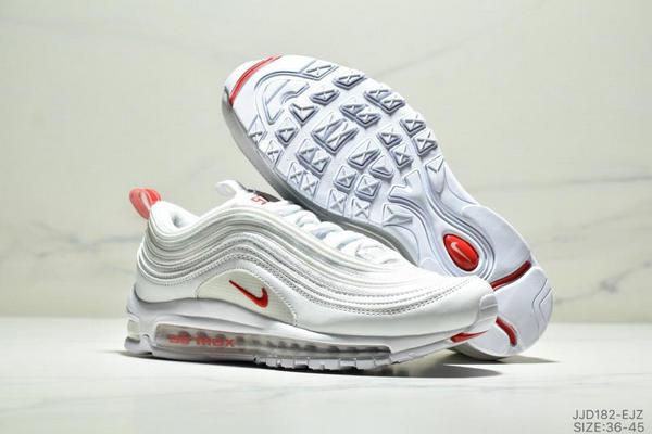 1f11cc8934a006c890614290e18b1a9c - NIKE AIR MAX 97 OG UNDFTD 97復古全掌小氣墊減震跑鞋 情侶款 白紅