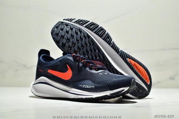 1f8efc65d6f2041320554cc0f5907905 - NIKE EXP-Z07 登月V14.5 運動休閒跑步鞋 情侶款 深藍白橘