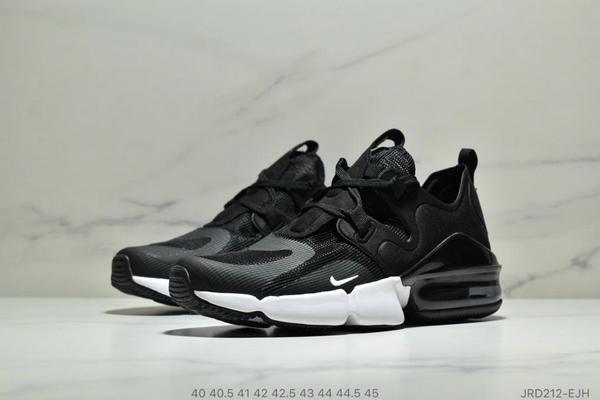 216bd9a2a806fa60dd9b1fa4ed213227 - Nike Air Max 春季新款 後置半掌氣墊運動減震跑步鞋 男款 黑白