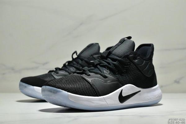 222fc608b23a5d5c9a4c8338b2430793 - Nike Pg 3 Ep 保羅喬治3代宇航員NASA聯名實戰籃球鞋 男款 黑色