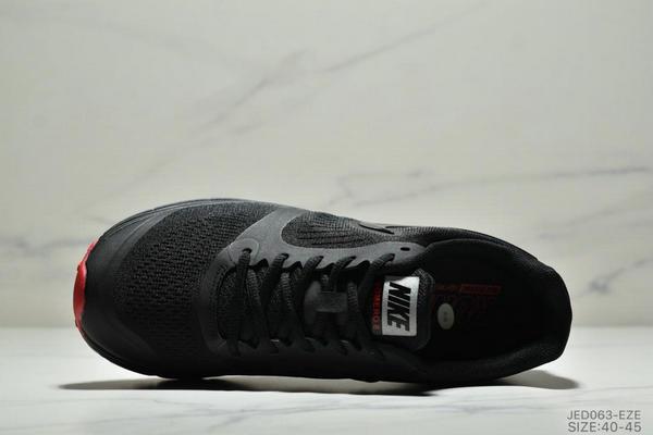 2921e03c9715b964c7f36a2043f1e887 - NIKE ZOOM VOMERO+8 登月編織飛線運動休閒鞋 男鞋 黑紅