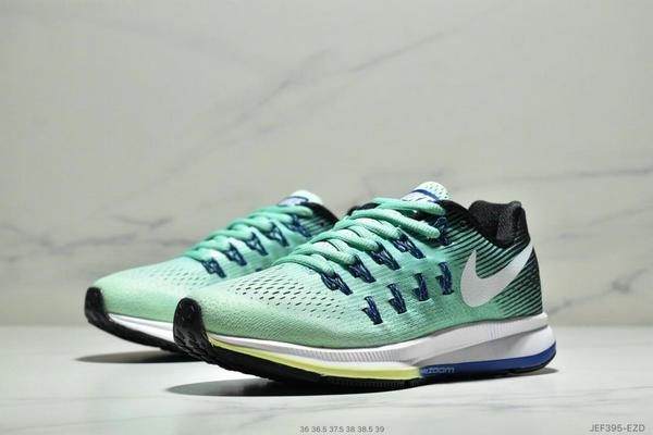 297ab37a7f395c34054e4bcfb1016123 - Wmns Nike Air Zoom Pegasus 33登月系列 透氣網面夏季清涼休閒慢跑鞋 女鞋 綠藍白