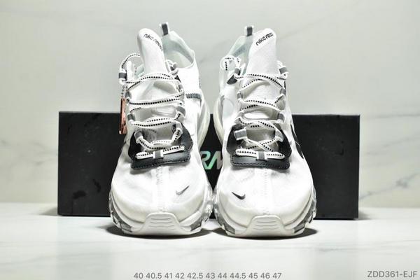 2b8145c8a053449cecd2a3e941ea85f7 - Nike React Element 87 Max 2019 氣墊 男款 白黑