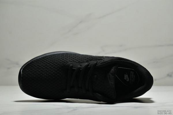 2d69afcca11809cdf13dd261e5263ad0 - Nike Wmns Tanjun SE 倫敦三代 尼龍韌性透氣網面 男女鞋 全黑