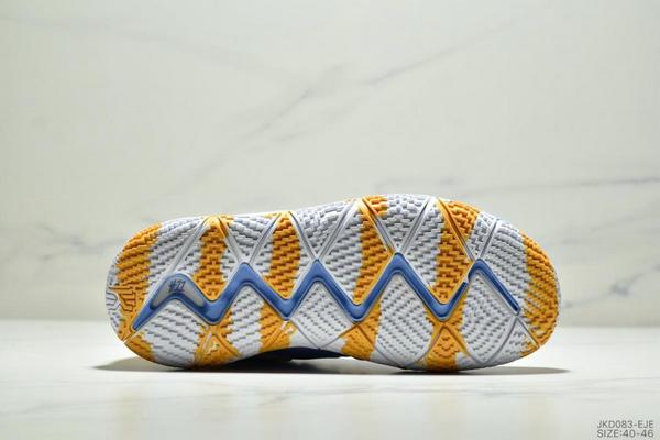 2e89973e299f7663d53e3d21202aa1a4 - Nike Kyrie 4 Ep 歐文4代高幫運動籃球戰靴 男款 藍黃白