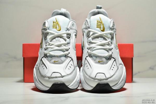 2fa8f315b2ae2cf9a76590e6384ffd89 - NikeM2K Tekno香蕉黃亮彩扎染復古休閒老爹鞋 男款 白黃