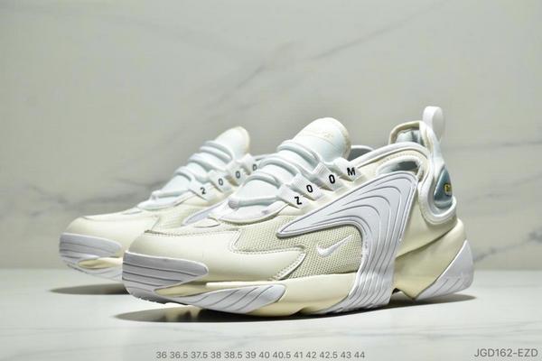 316b99947179f5df737751dbf0cbde0f - Nike Zoom +2K Sneaker White-Black Zoom 2000復古百搭老爹慢跑鞋 如圖